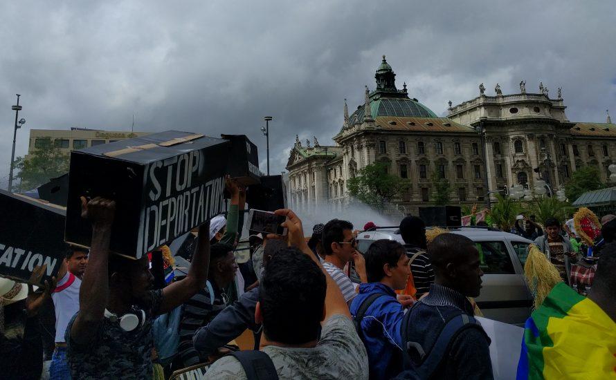 Demo in München:
