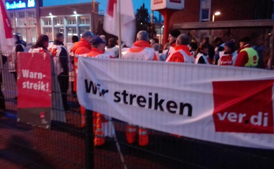 Längster Streik seit 50 Jahren im Rostocker Nahverkehr