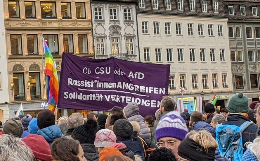 Mit Söder gegen die AfD und rechten Terror?