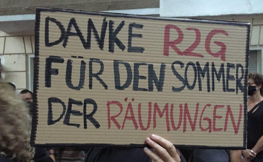 SPD, Grüne und Linkspartei an der Seite von Immobilien-Milliardären: Polizei räumt die Kiezkneipe Syndikat