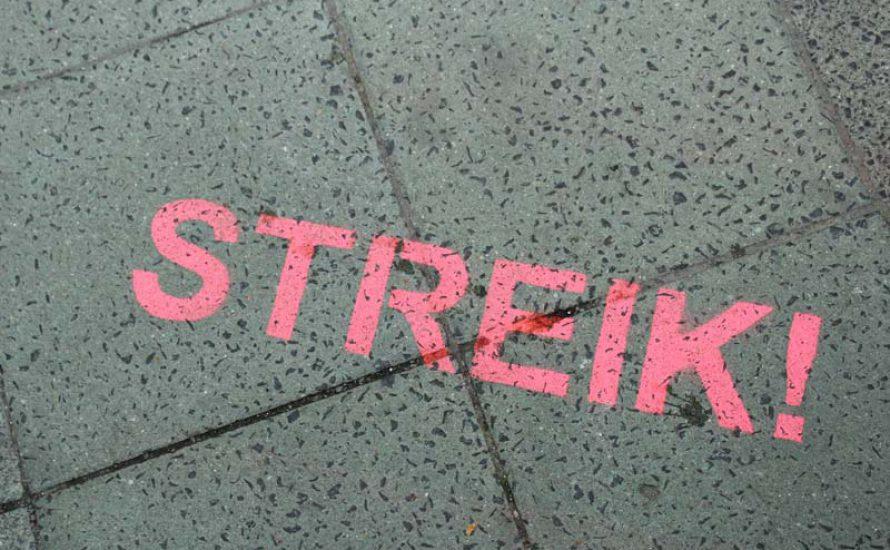 Streiks im Einzelhandel