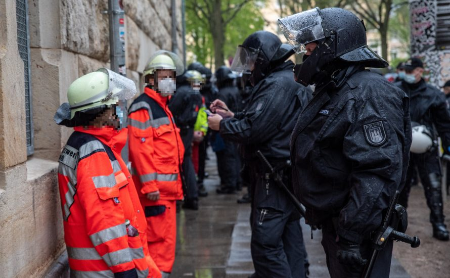 Polizeigewalt am 1. Mai: Schmeißt die GdP aus dem Gewerkschaftsbund raus!