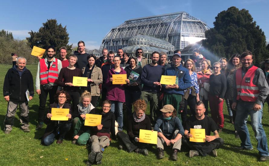 Ver.di Mitglieder der FU Berlin solidarisieren sich mit