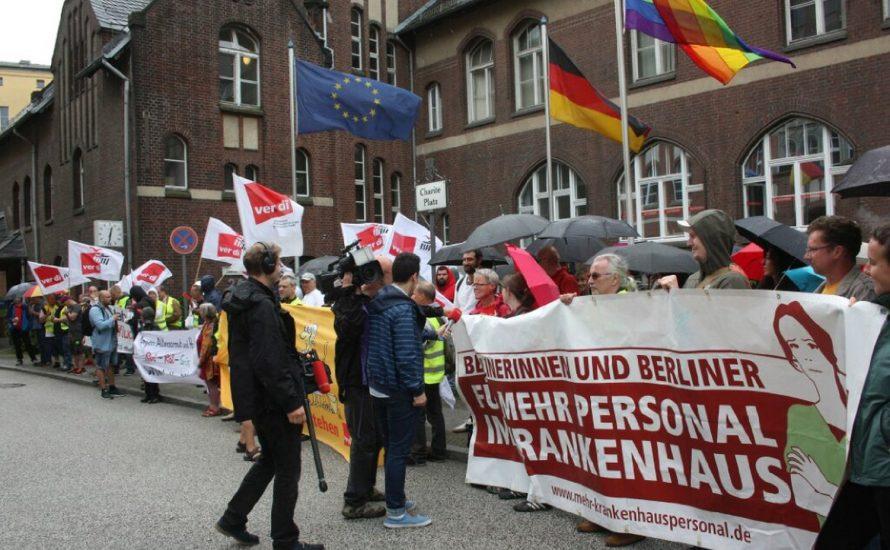 Arbeiter*innen der VSG solidarisch mit TVStud und gegen Repression