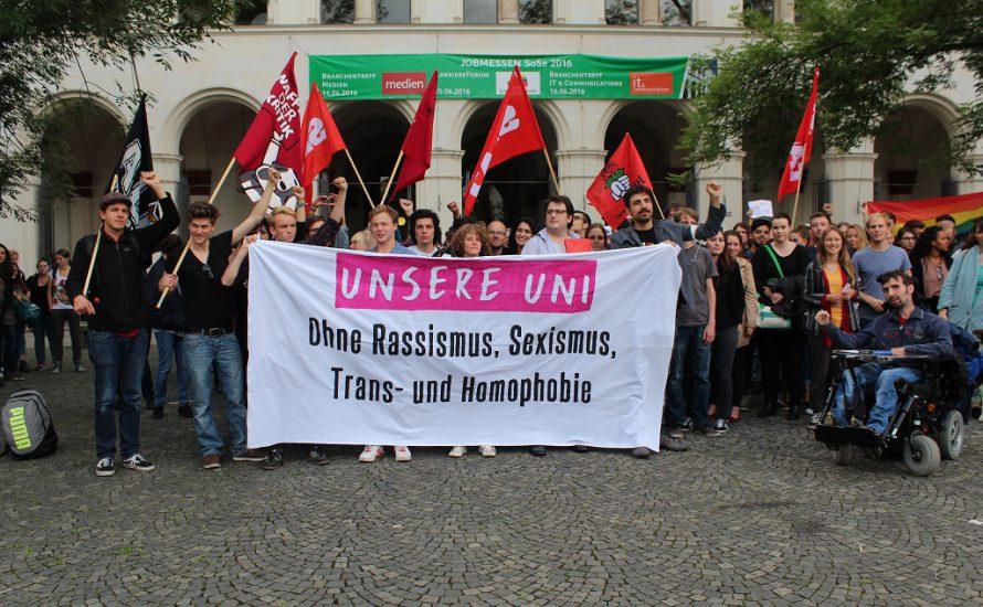 LMU München: Gegen die AfD, für ein Uni-Parlament!
