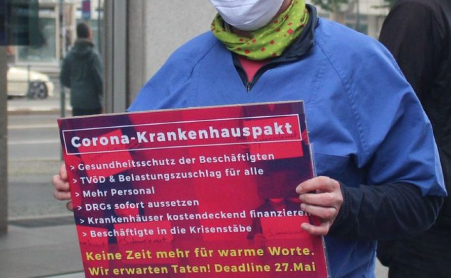 Gegen Kürzungspolitik und Schwarze Null: Bundesweite Streiks im Gesundheitssystem!
