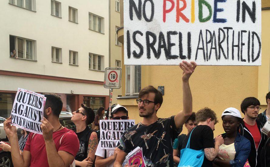 Queers protestieren gegen Pinkwashing – das deutsche Establishment wirbt für Solidarität mit Israel