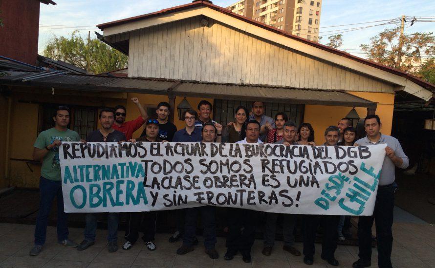 Solidarität aus Chile mit den kämpferischen Geflüchteten