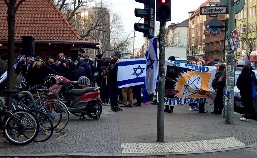 Kartoffelparty gegen israelischen Film