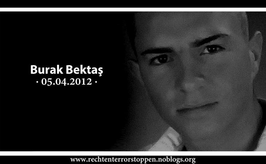Im Gedenken an Burak Bektaş: Wir fordern Aufklärung!