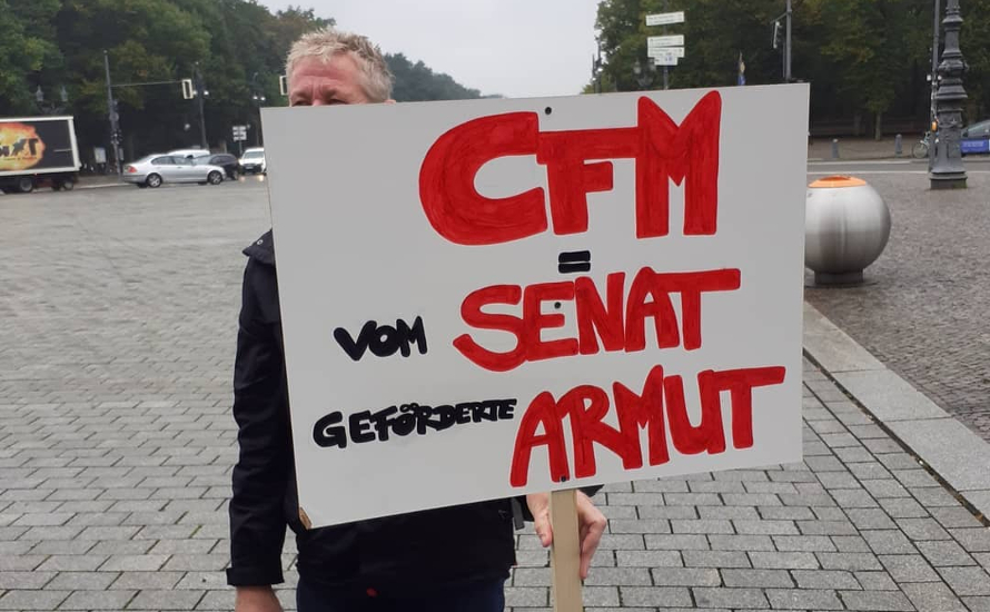 Für gemeinsame Streiks mit der Pflege bis zur Eingliederung der CFM!