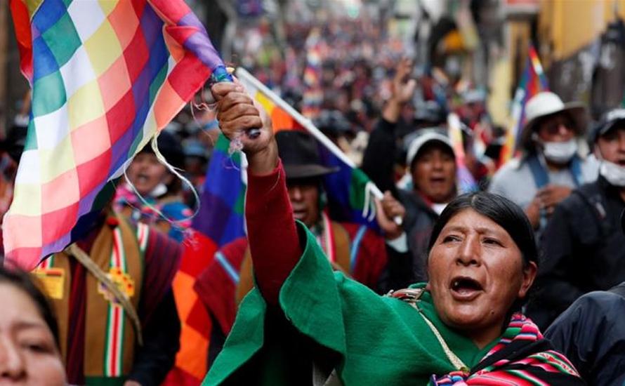 Gegen die Unterstützung des Putsches in Bolivien durch die imperialistische EU!