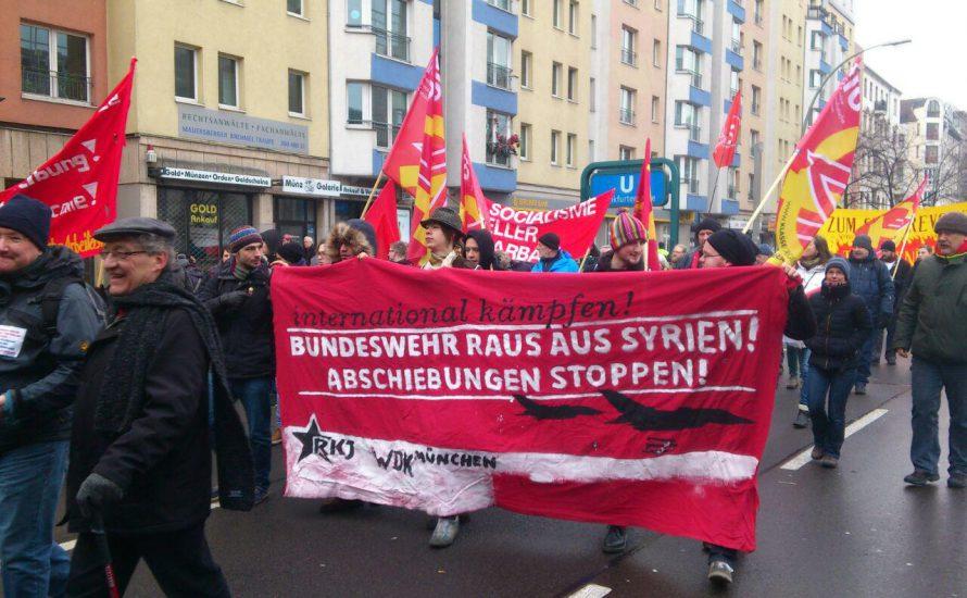 LLL-Demo: Gegen Imperialismus und Rechtsruck, für die Oktoberrevolution!