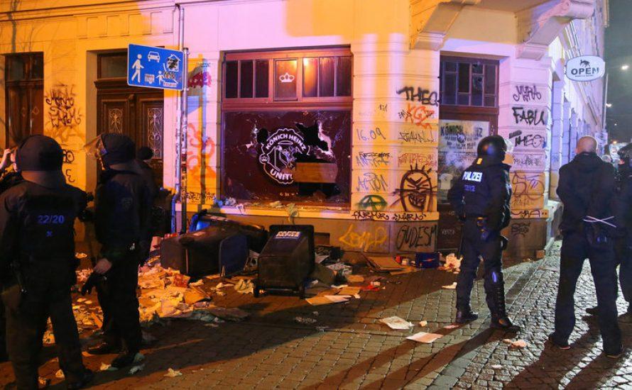 Köln und Leipzig: Nazis suchen Straßenkrieg