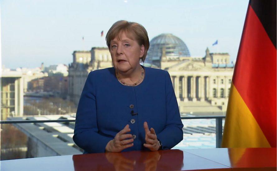 Merkel: Mit warmen Worten in die kapitalistische Katastrophe
