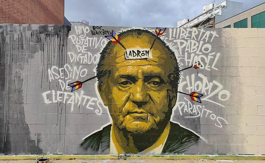 Spanien: Wehe du disst den König