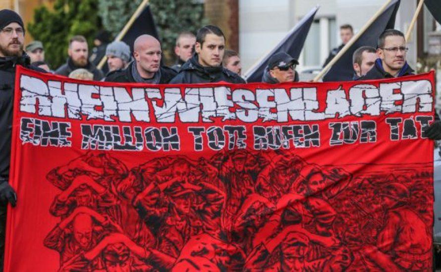 350 Antifaschist*innen gegen Nazi Aufmarsch in Remagen