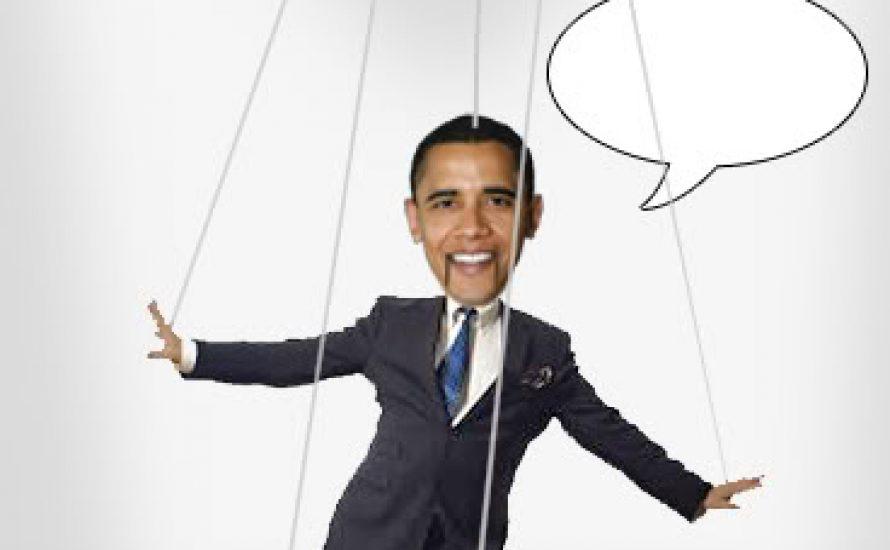 Obama ist eine Marionette