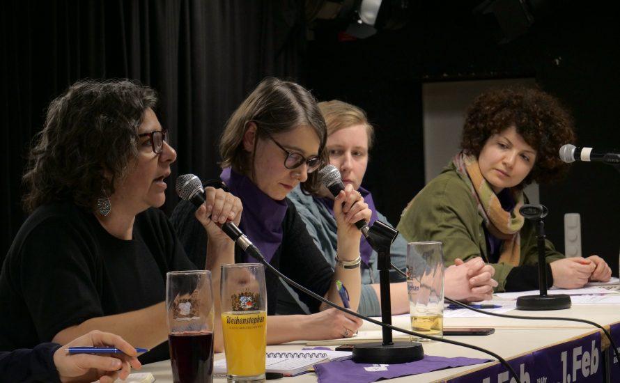 120 Menschen diskutieren in München über eine neue weltweite Frauenbewegung