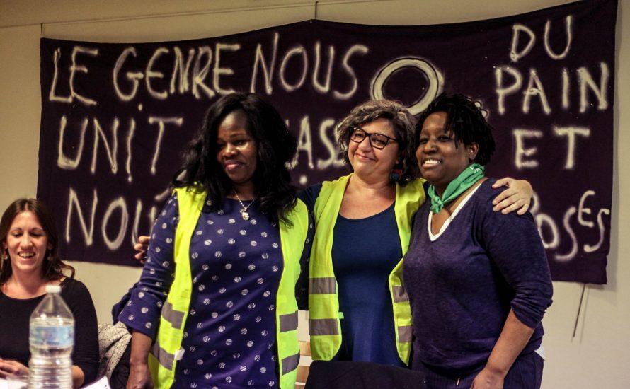 """""""Frauen an vorderster Front"""" - Veranstaltung mit Andrea D'Atri in Paris"""