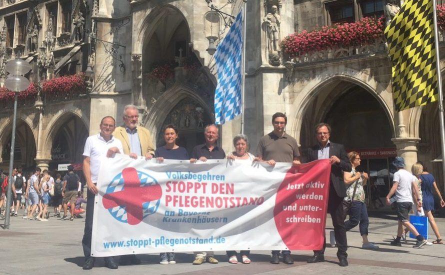 Stoppt den Pflegenotstand – soziale Offensive in Bayern