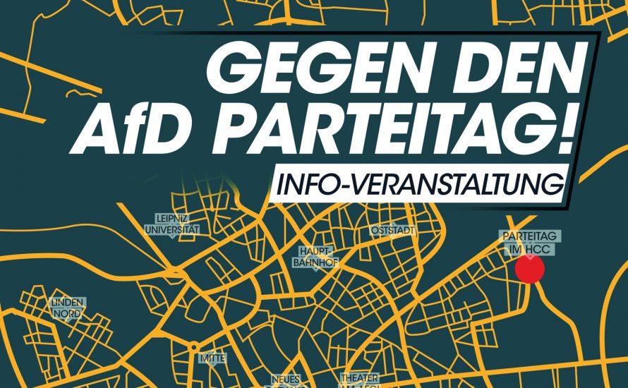 Gegen denAfD-Bundesparteitag!