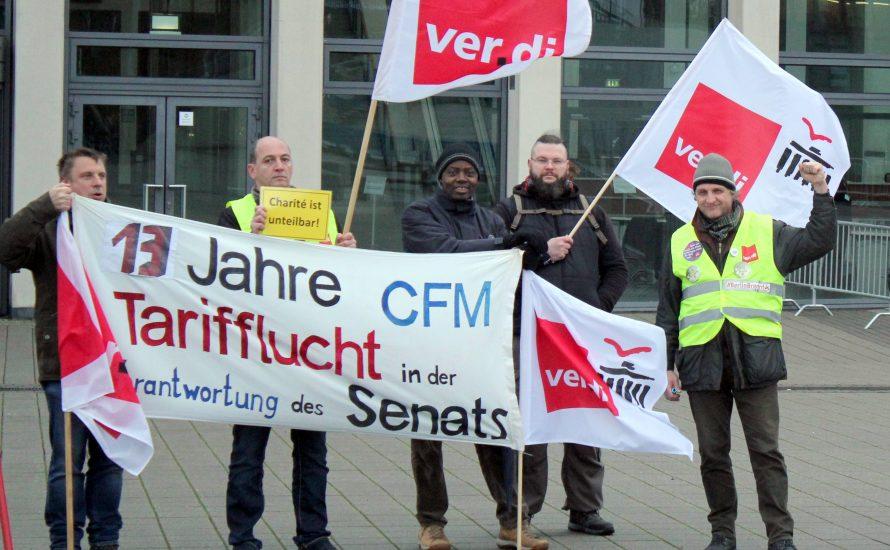 Aufruf: Unterstützt den CFM-Streik!
