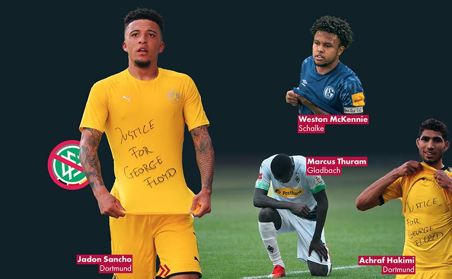 DFB ermittelt gegen Sancho, Hakimi, Thuram und McKennie wegen
