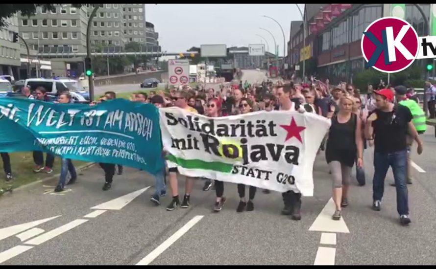 [Video] Schulstreik gegen G20 in Hamburg