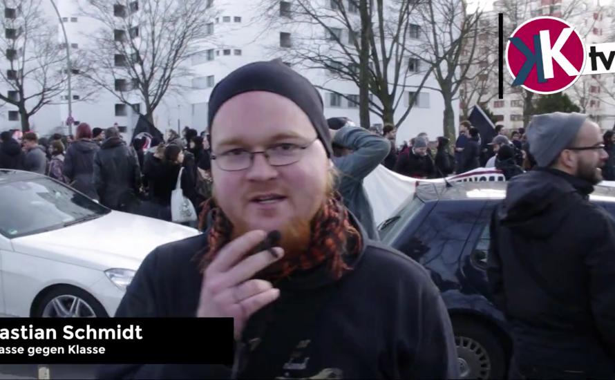 [Video] Demonstration gegen rechte Gewalt in Rudow