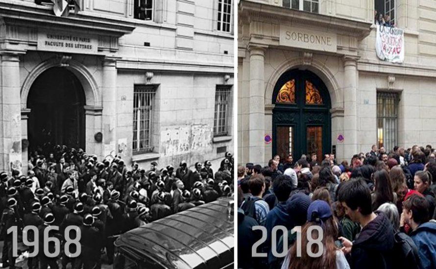 Proteste gegen Macron: Ein Hauch Mai '68