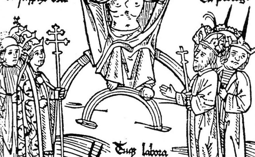 Wie im Mittelalter…