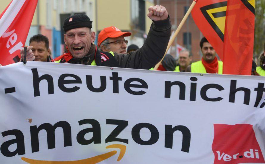 Streiks bei Amazon in Bad Hersfeld II