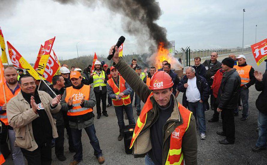 Historischer Tag der Demonstrationen in Frankreich