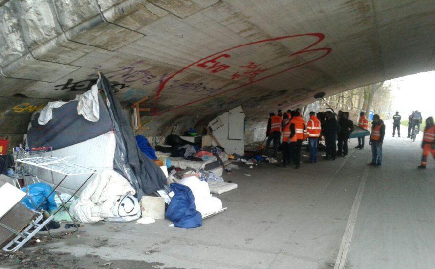 Der Kampf der SPD gegen die Obdachlosen: Weitere Unterkunft geräumt