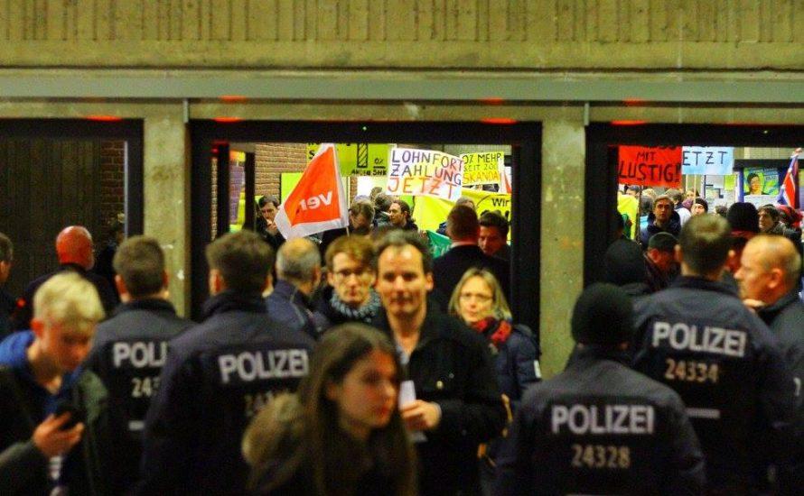 Polizeipräsenz gegen Aktion der studentischen Beschäftigten an der TU war völlig unangemessen