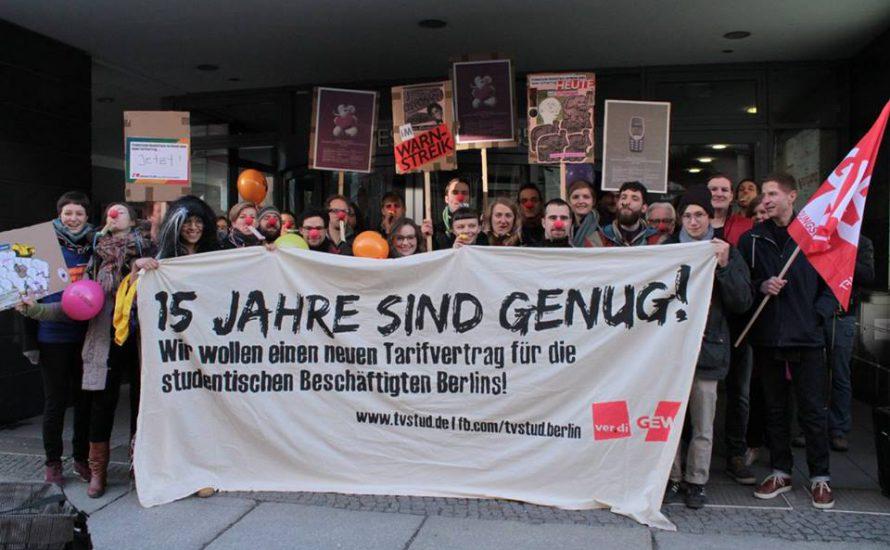TVStud III Verhandlungen – auf zum Sieg gegen Unis und Senat!