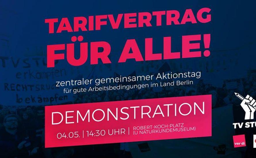 4.5. Aktionstag: TVöD/TV-L für Alle! – Schluss mit prekärer Arbeit!