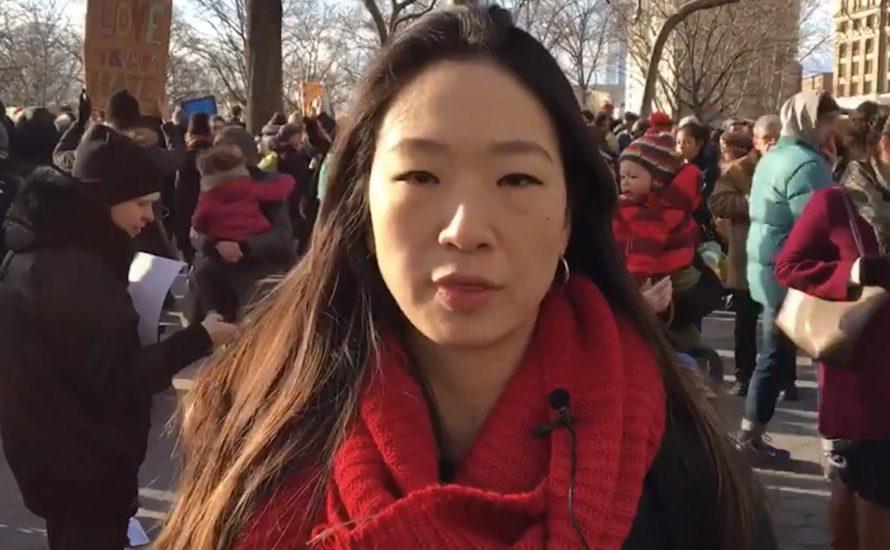 [Video] Tausende Menschen protestieren in New York gegen den