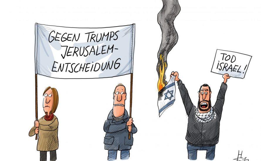 Eine rassistische Karikatur von Cicero bringt den Antisemitismus des deutschen Establishments perfekt zum Ausdruck