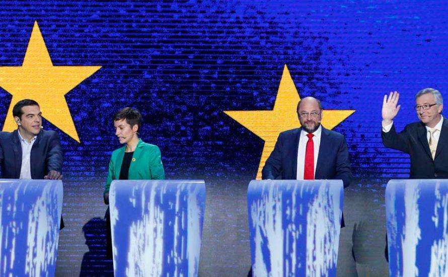 """""""Erdbeben"""" bei der Wahl in Europa"""