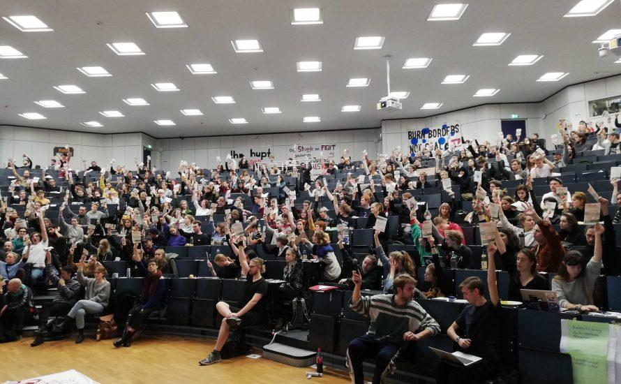 Kommt zum Komitee für eine Vollversammlung an der Freien Universität!
