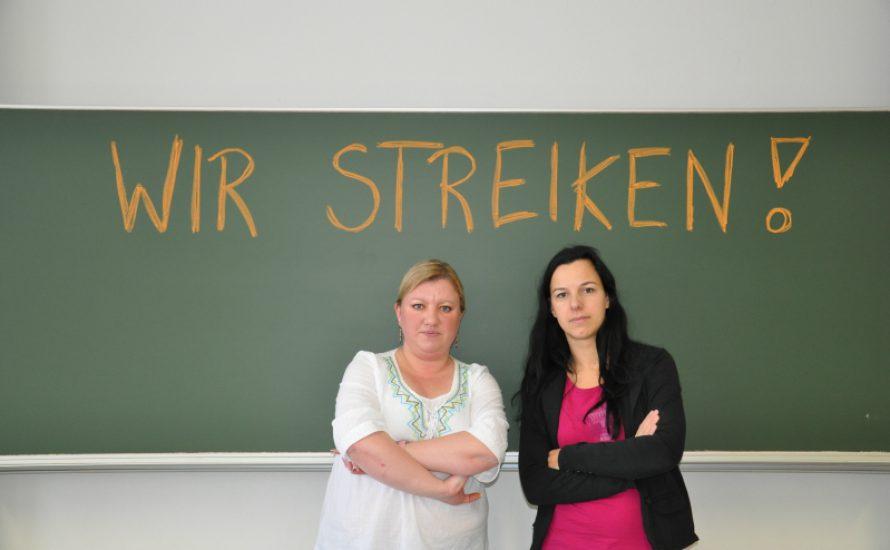 Berlin: TagelöhnerInnen an den Schulen