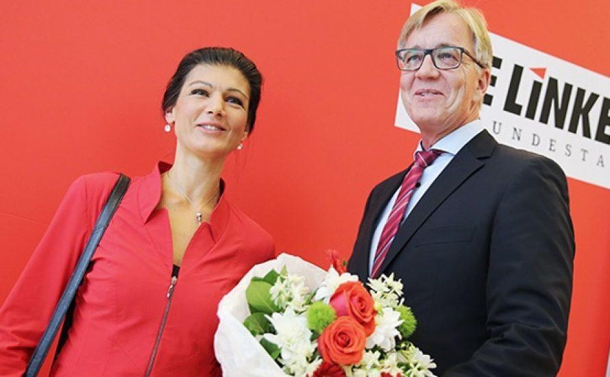 Wagenknecht lobt die Schläger*innen des bürgerlichen Staates