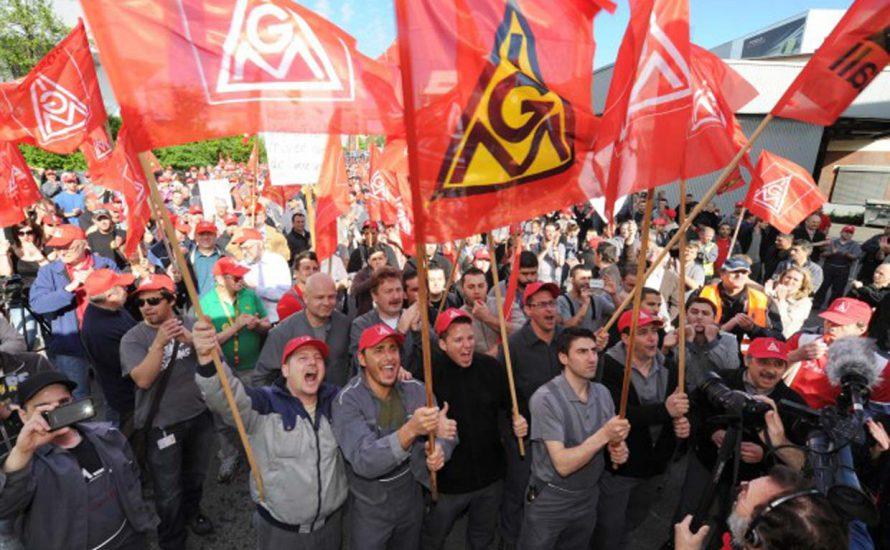 Solidarität mit dem Tarifkampf der IG Metall!