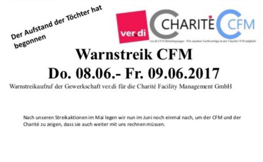 CFM-Streik geht am Donnerstag und Freitag weiter