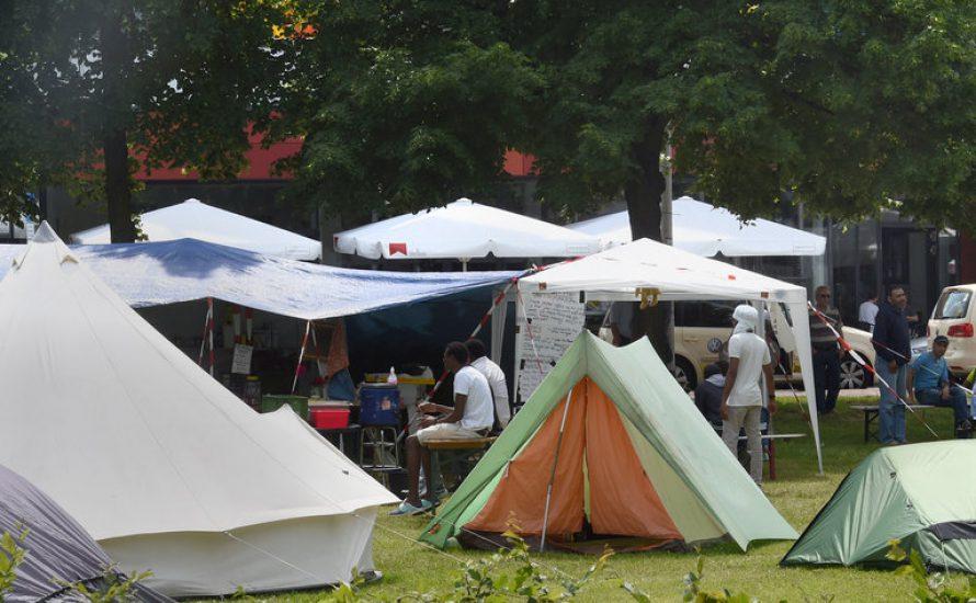 Frontalangriff auf Geflüchtetenbewegung: Protestcamp in Hannover geräumt