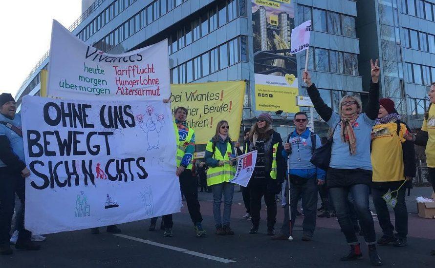 BVG, CPPZ, TV-L: Der Senat ist der gemeinsame Gegner! Heraus zum gemeinsamen Streik – auch am 8. März!