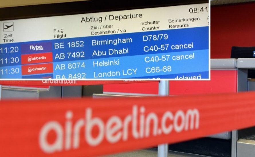 Air Berlin: Streiken gegen den Druck!