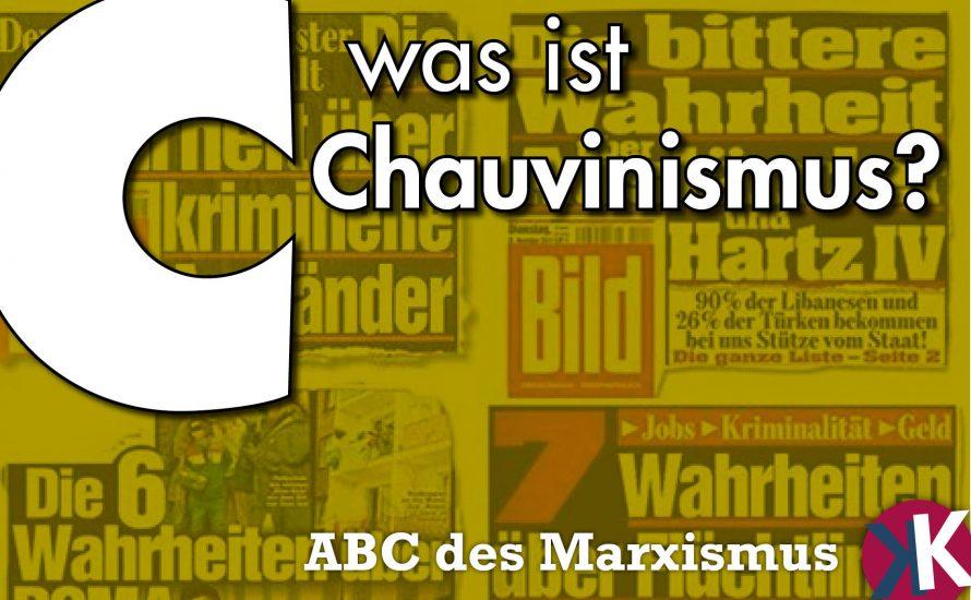 Was ist Chauvinismus?